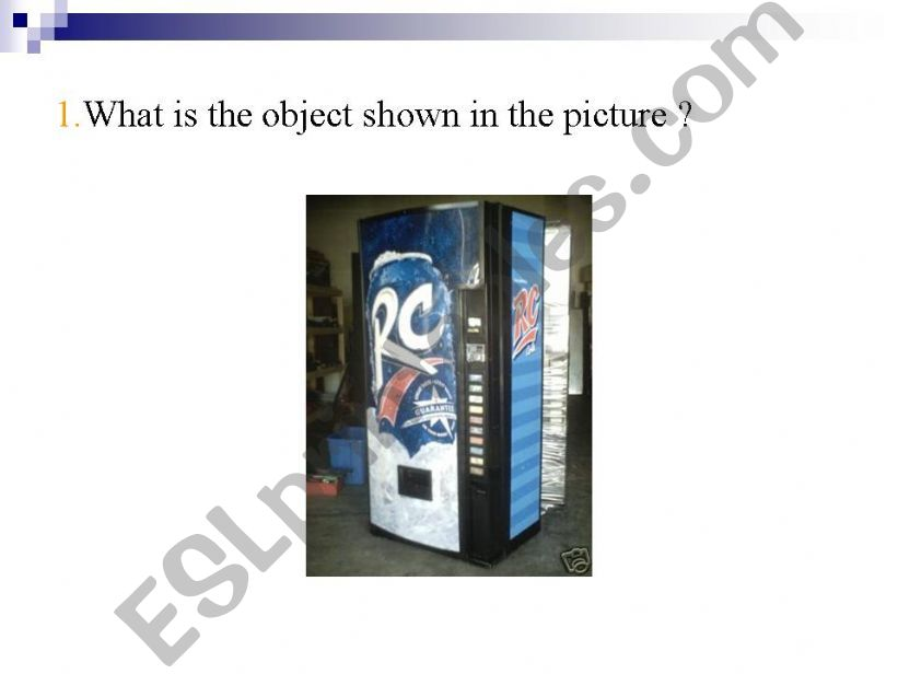 presentation of an Object   powerpoint