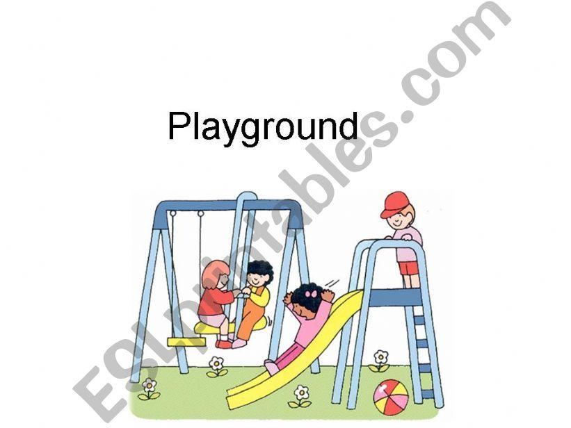 Playground powerpoint