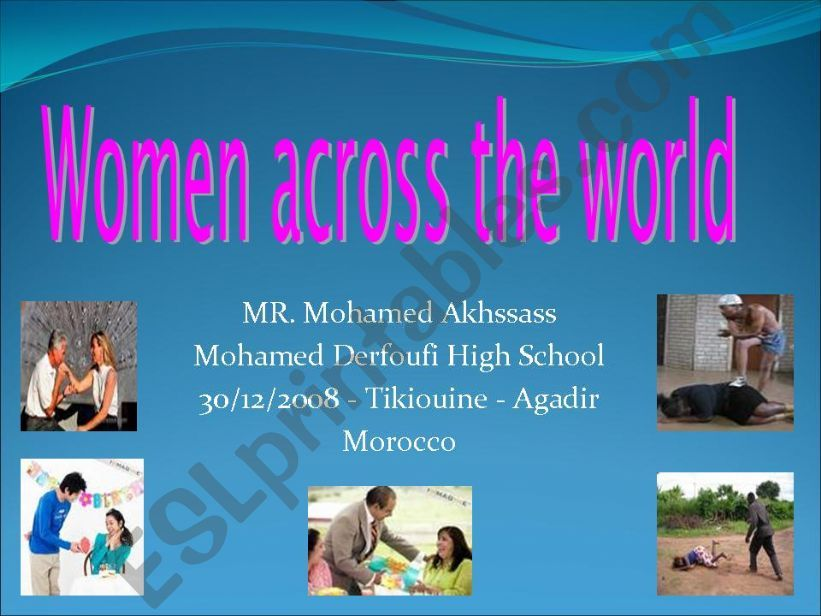 Women and power powerpoint