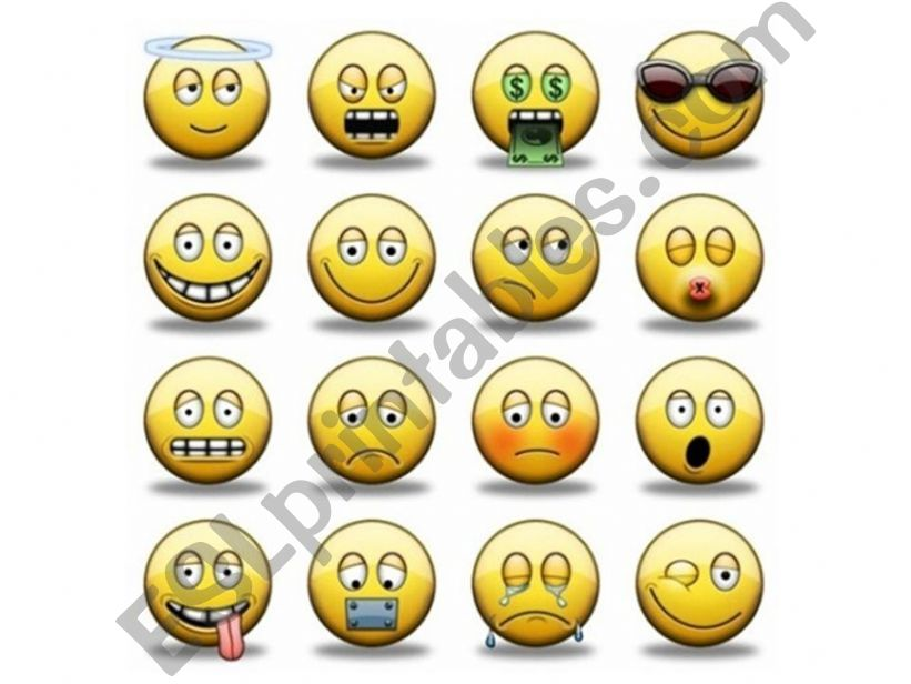 Adjectives of Feelings and Emotions