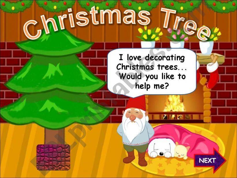 Christmas Tree powerpoint