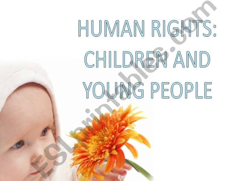 Human Rights: Children and young people
