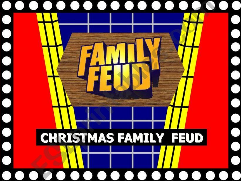 christmas family feud powerpoint