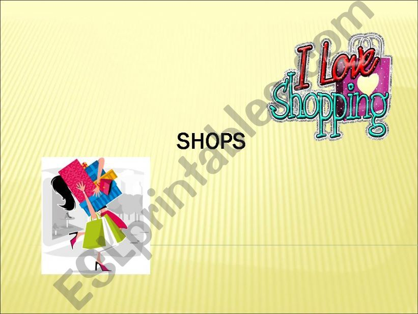 Types of shops powerpoint