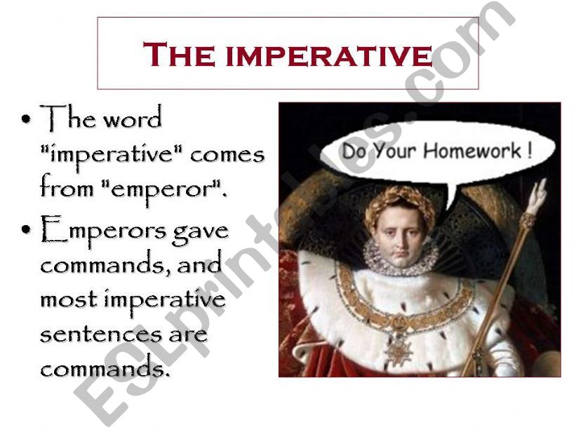 The imperative powerpoint