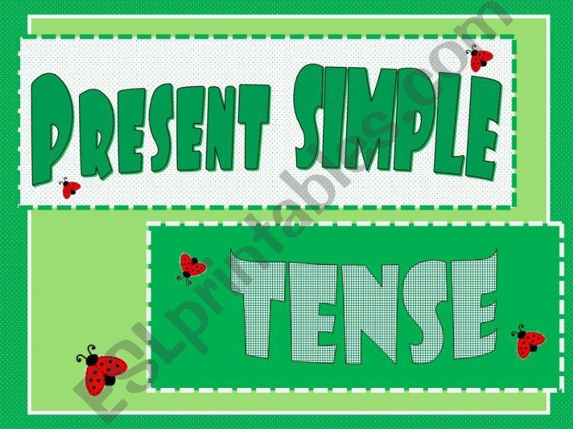 Present Simple Tense powerpoint