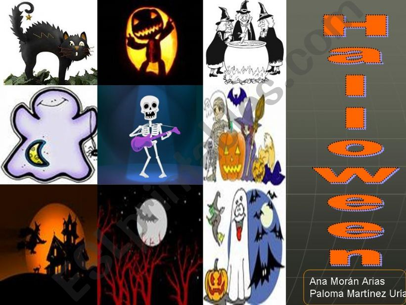 Halloween game powerpoint