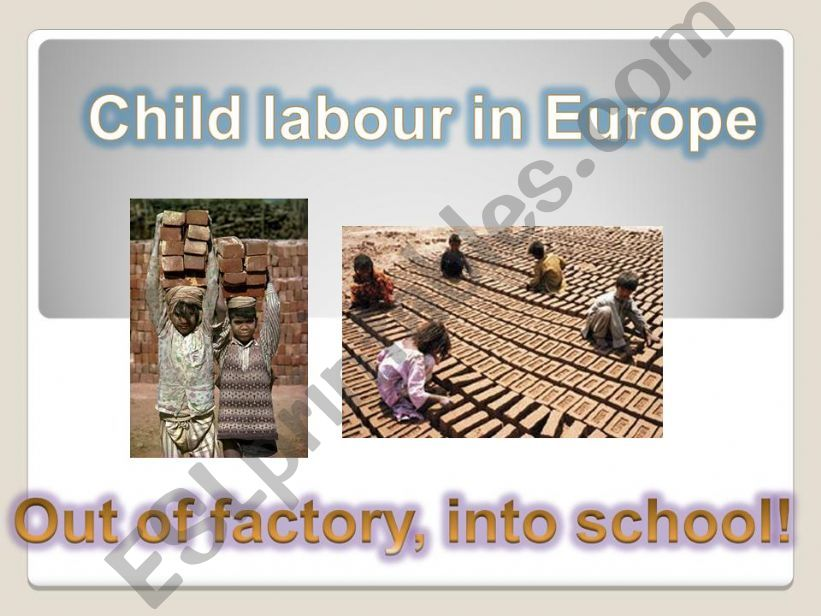 CHILD LABOUR powerpoint