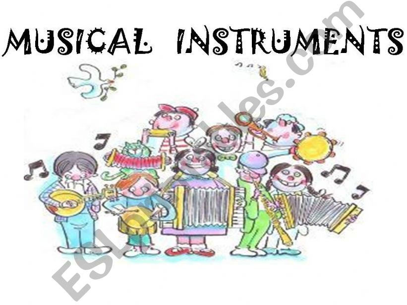 musical instrument powerpoint