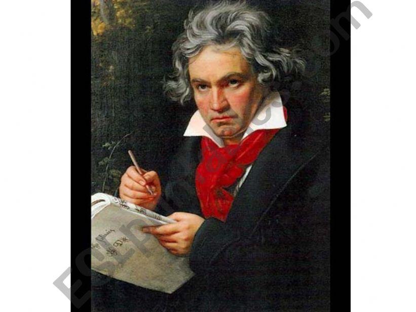 Ludwig Van Beethoven powerpoint