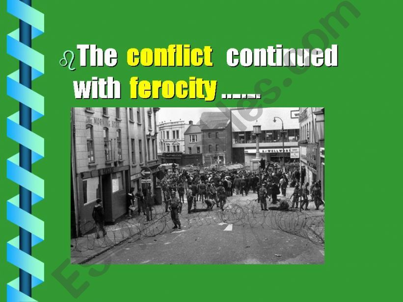 History of Northern Ireland  ( 4 / 5 parts )