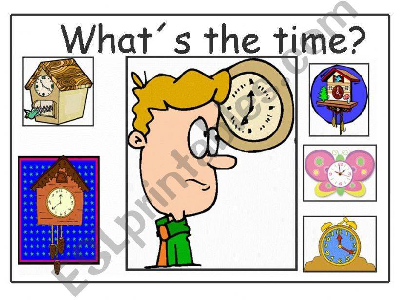 What´s the time? powerpoint