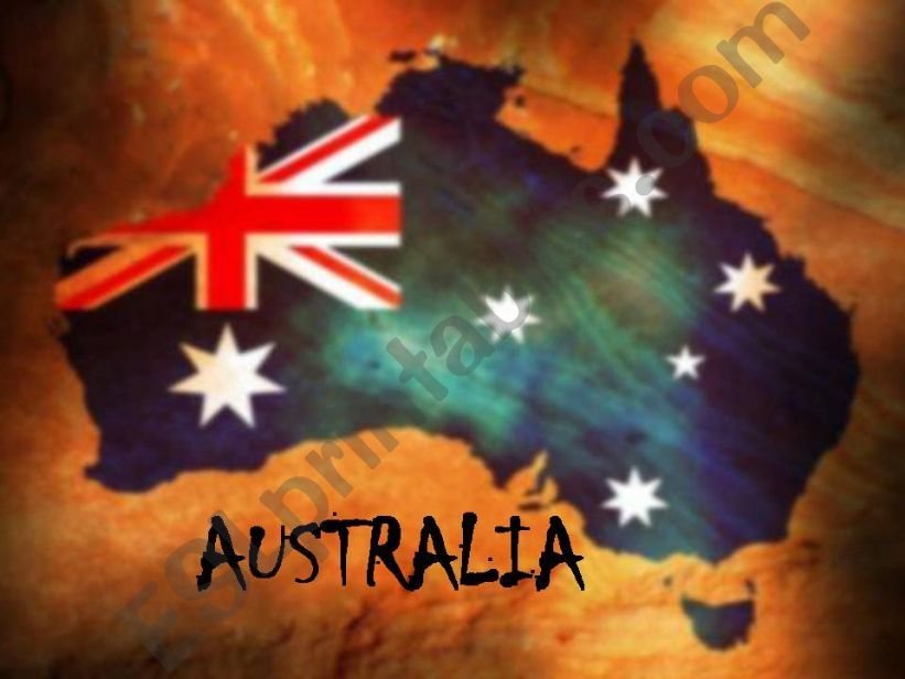 AUSTRALIA - ITS CHARACTERISTICS