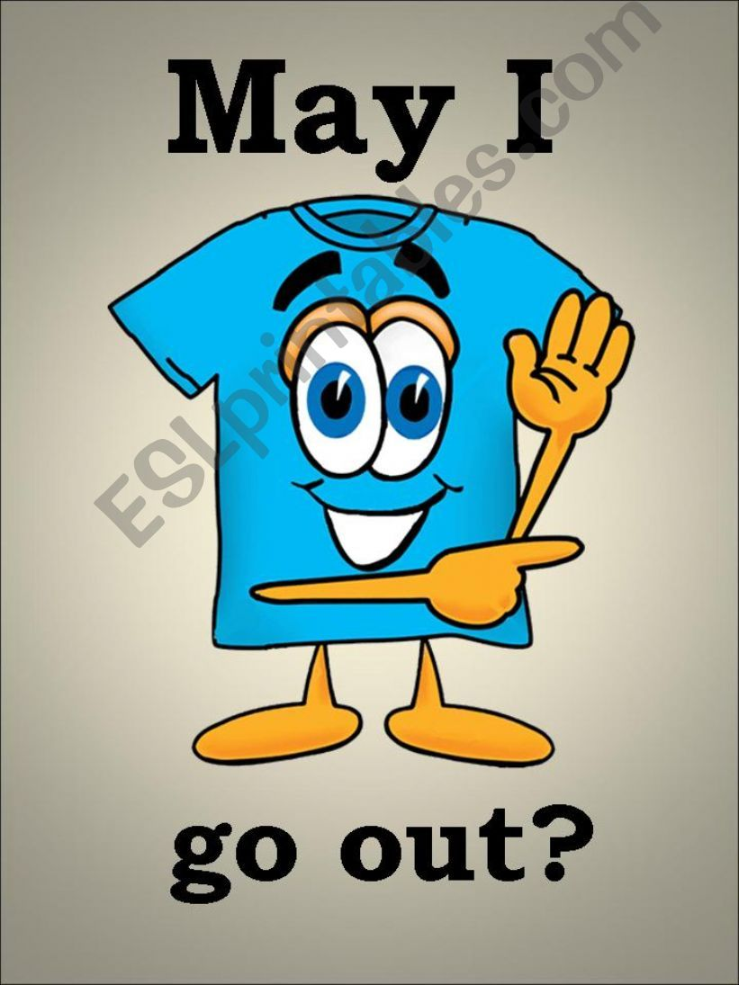 May I go out? powerpoint