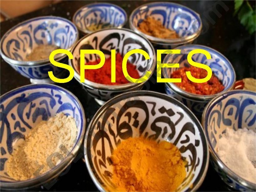 Spices - part1 powerpoint