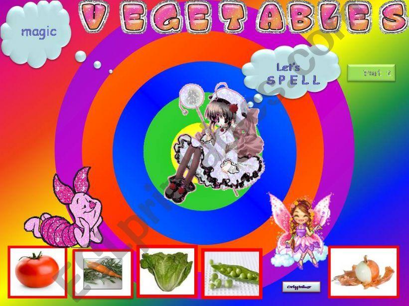 Vegetables Game -