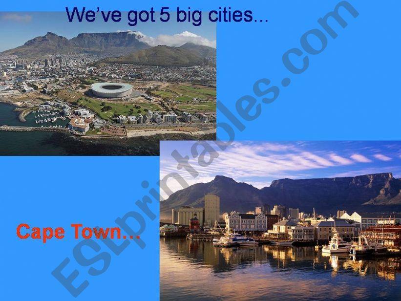 South Africa presentation part 3