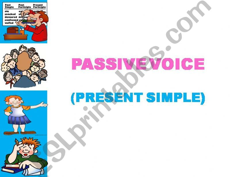 The passive voice - step by step