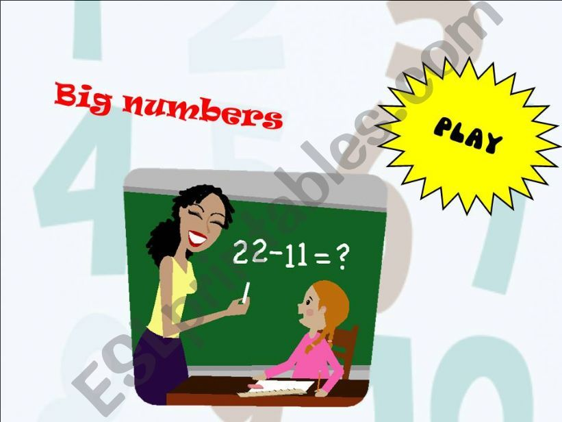 Big numbers_game powerpoint