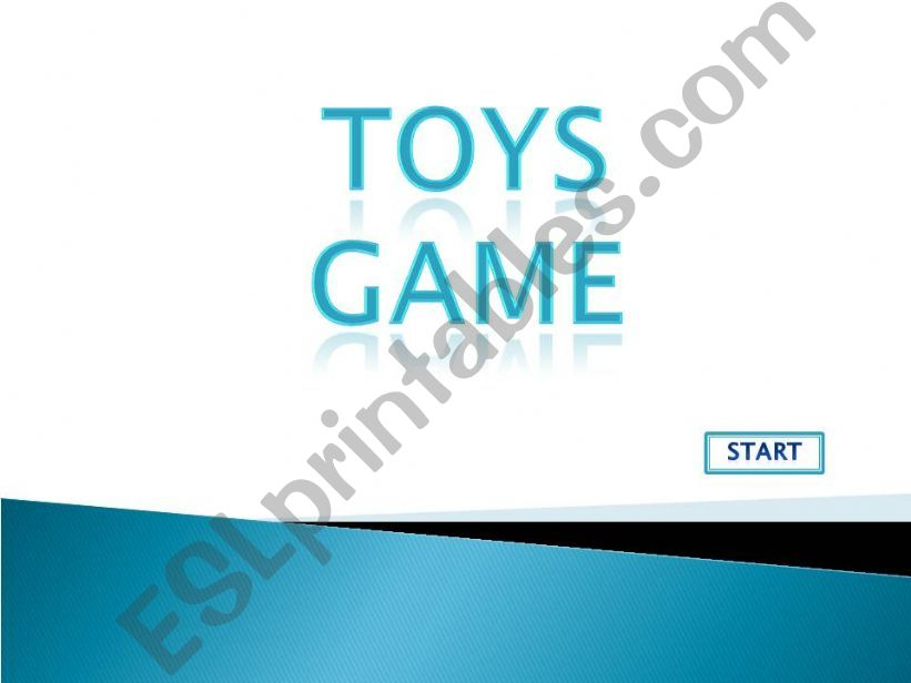 Toys Game powerpoint