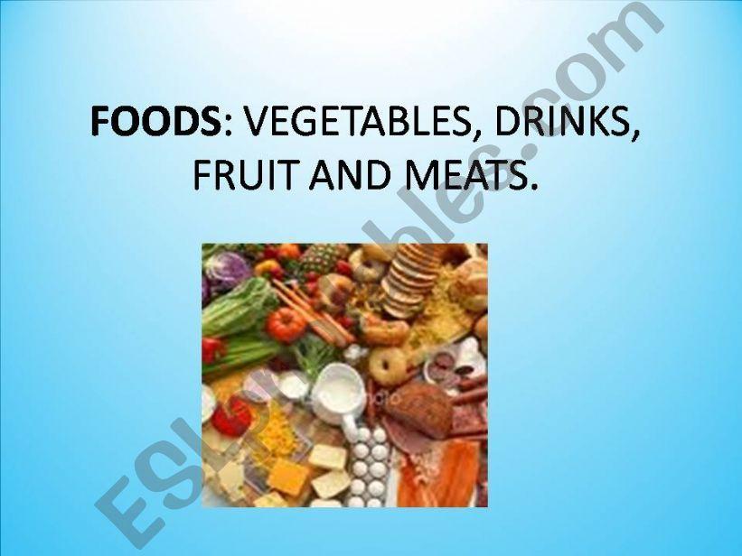 Foods powerpoint