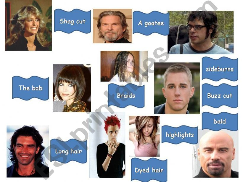 HAIRSTYLES powerpoint