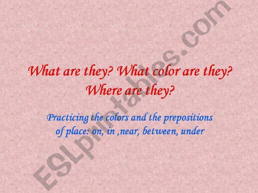 Prepositions powerpoint