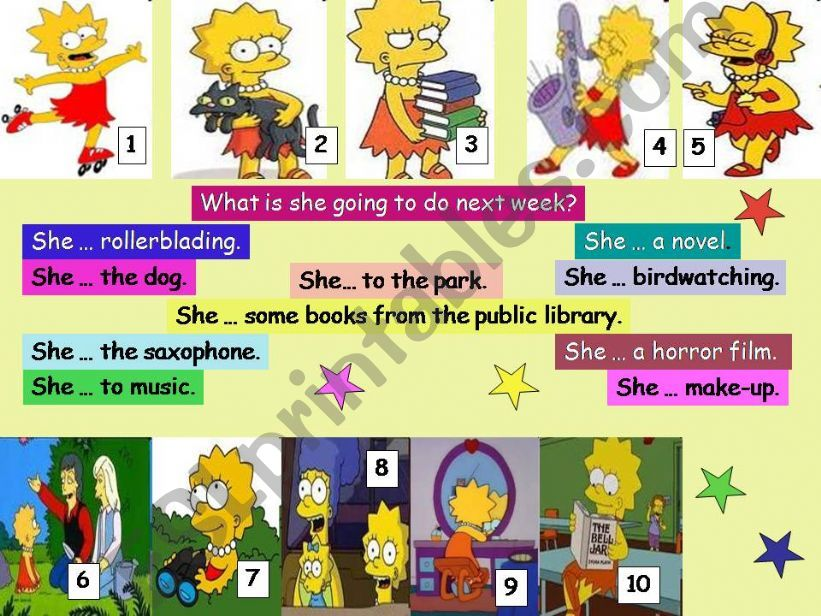 Lisa Simpson´s present past and future, (2/2)