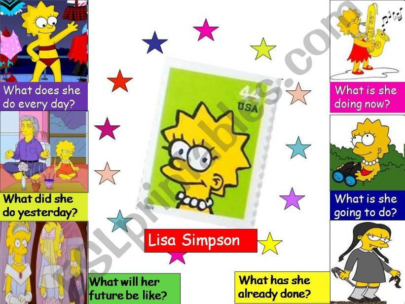Lisa Simpson´s present, past and future (1/2)