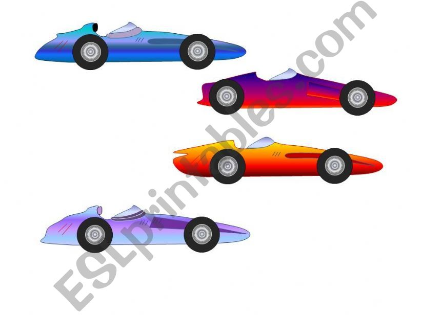 racing cars for ppt games powerpoint