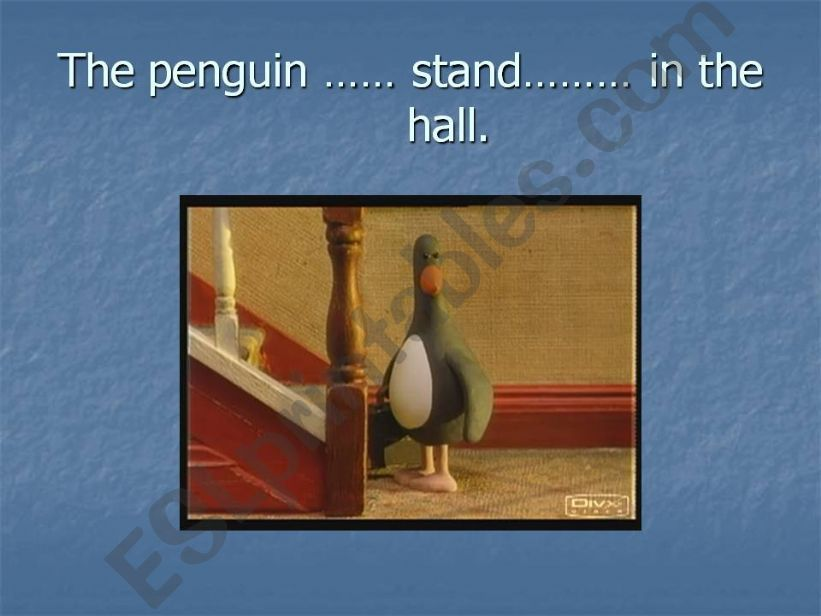 Wallace and Gromit powerpoint