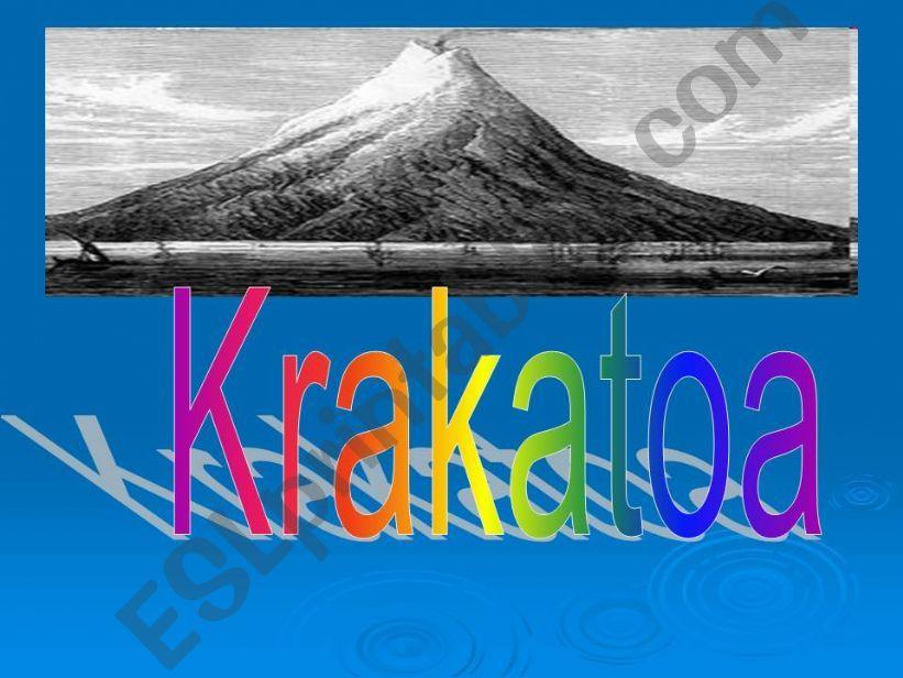 krakatoa powerpoint