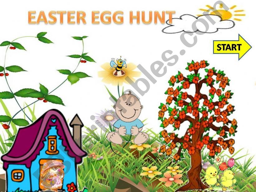 EASTER EGG HUNT GAME (WITH SOUND)