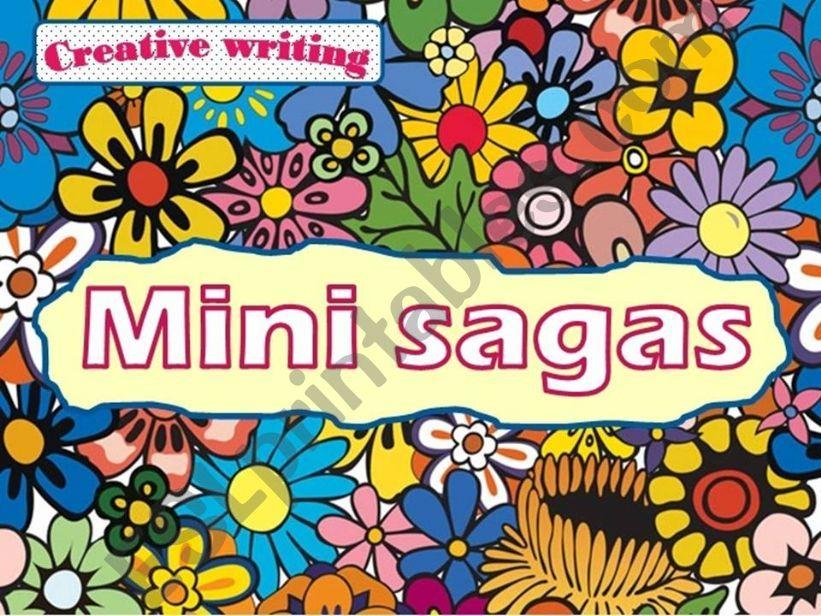 Creative writing: Mini sagas powerpoint