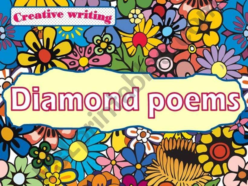 Creative writing: Diamond poems