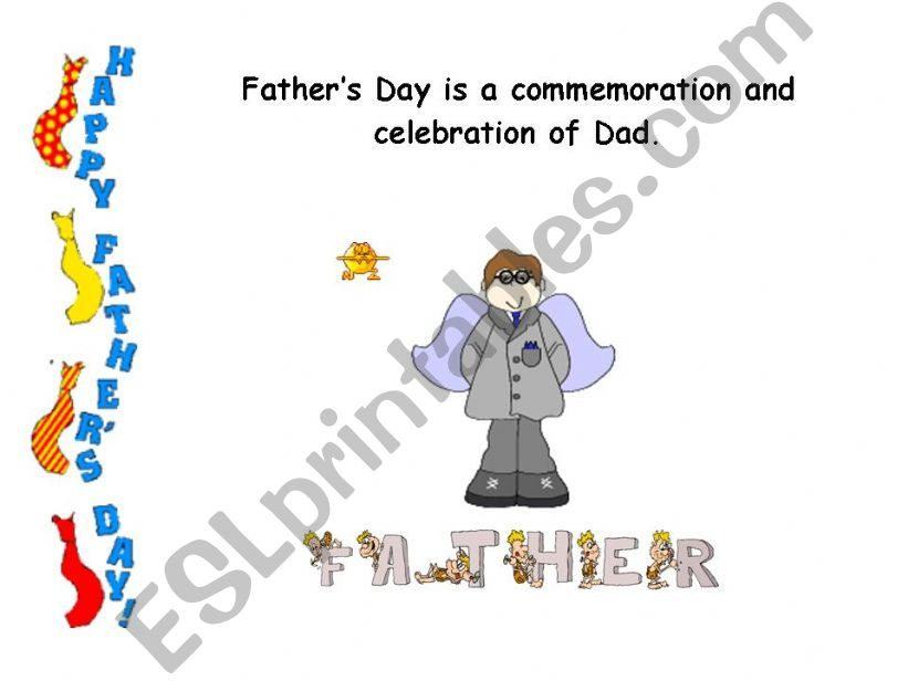 Father´s Day ( 1st part) powerpoint