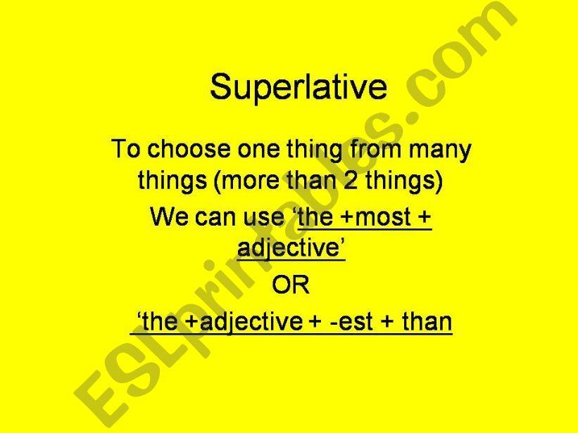 superlative powerpoint