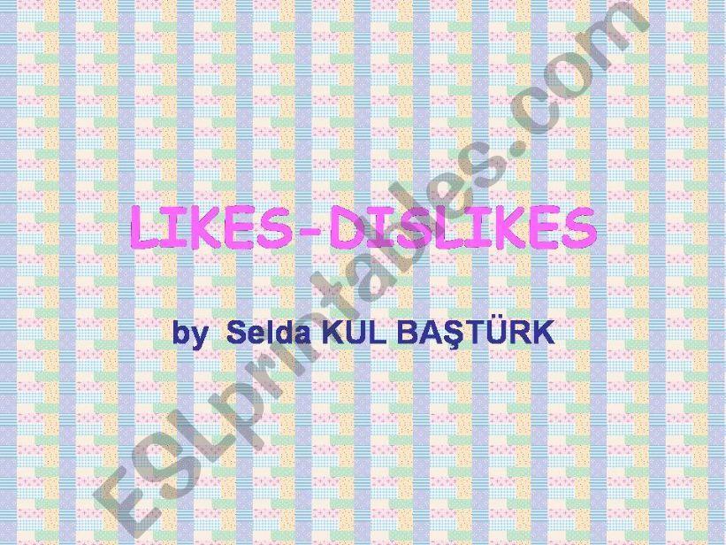 likes-dislikes powerpoint