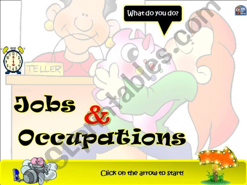 JOBS & OCCUPATIONS powerpoint