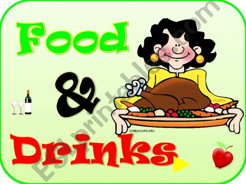 FOOD & DRINK (Part I) powerpoint