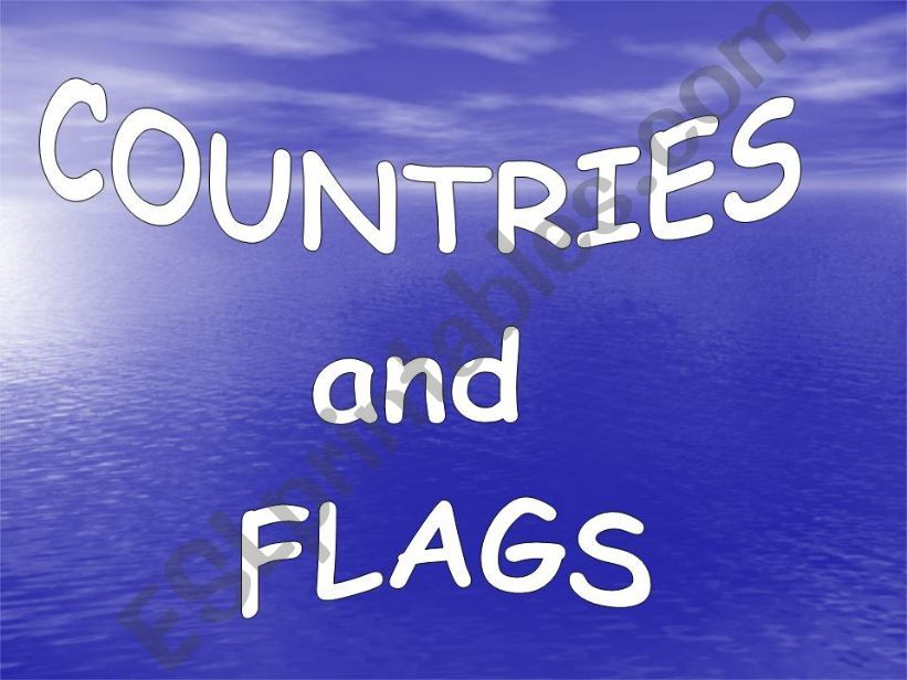 Countries & Flags (PPS2) powerpoint