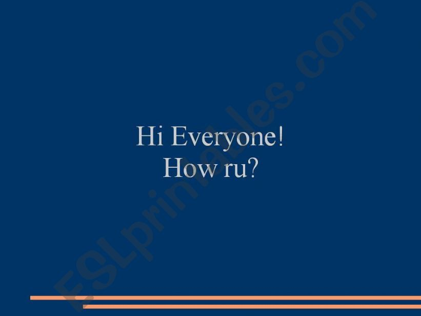 Abbreviations powerpoint