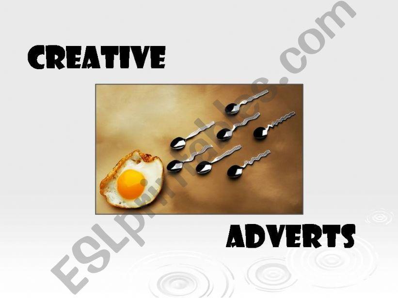 Creative Adverts powerpoint