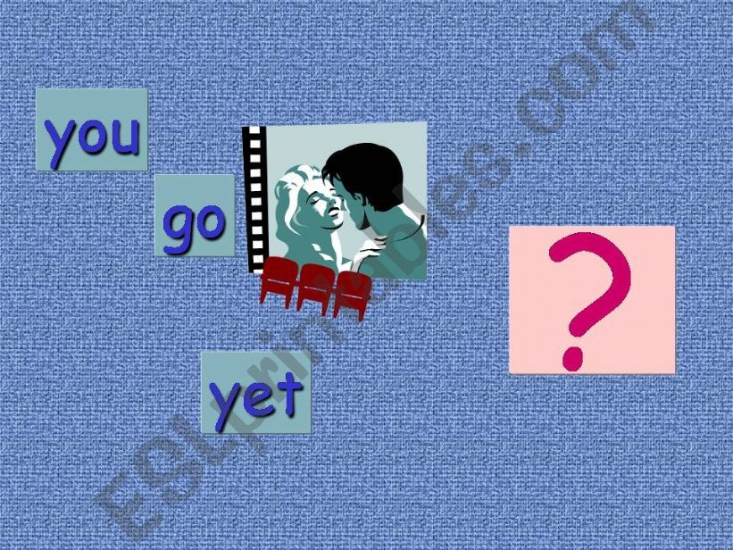 Present perfect - oral drill powerpoint