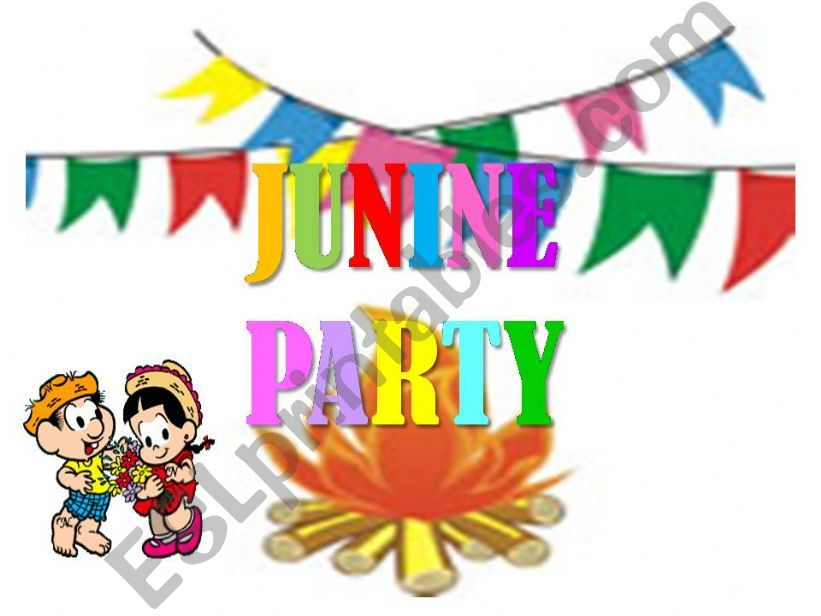 Junine Party in Brazil powerpoint