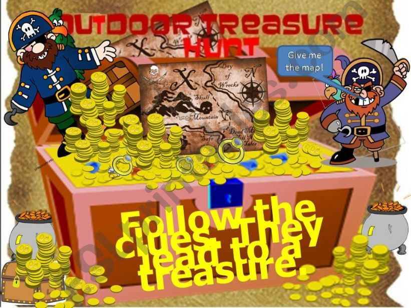 Outdoor Treasure Hunt--a great game or special reward