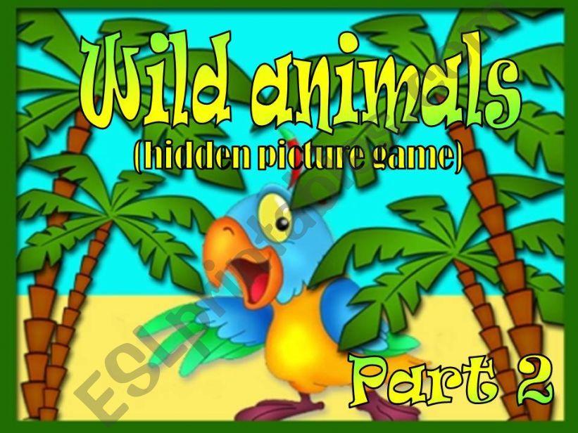 Wild animals – Hidden Picture Game Part 2 (2)