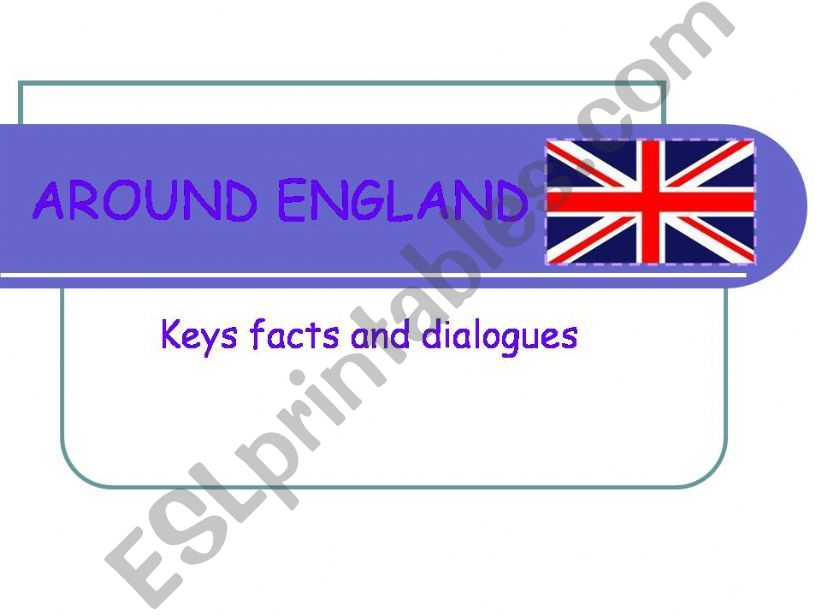 Around England I powerpoint
