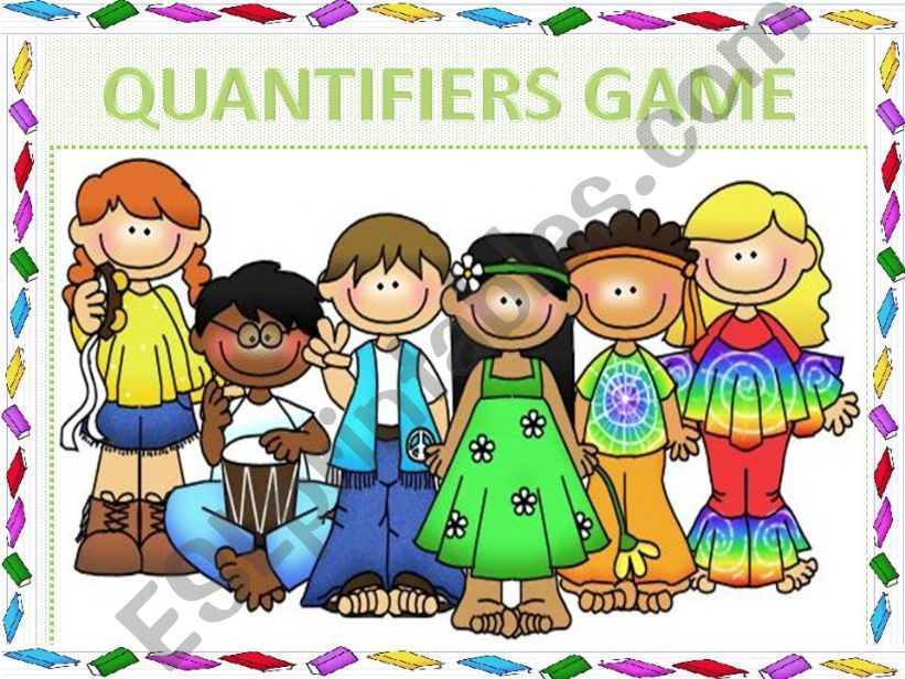 QUANTIFIERS GAME (animated) powerpoint