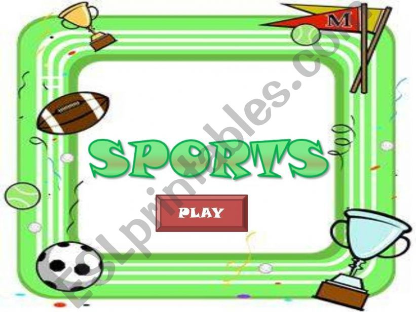 SPORTS GAME (part 1) powerpoint